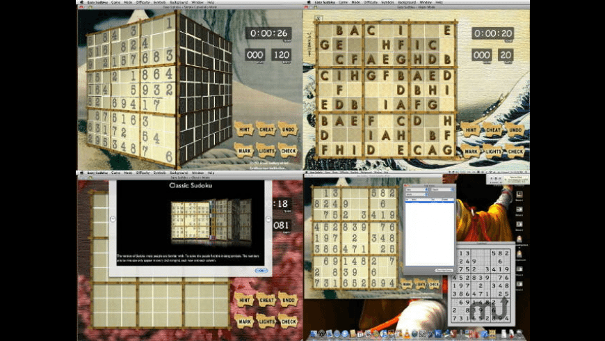 Easy Sudoku for Mac - review, screenshots