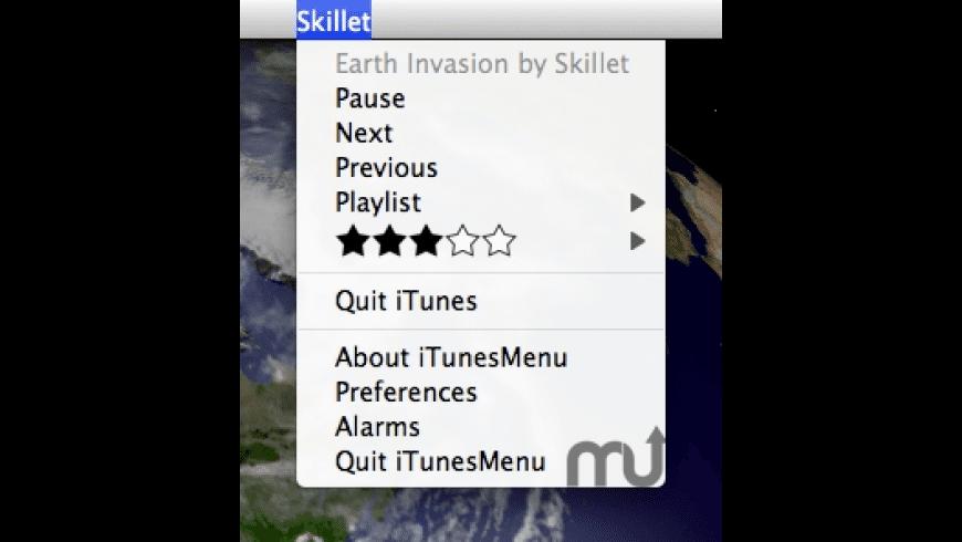 iTunesMenu for Mac - review, screenshots