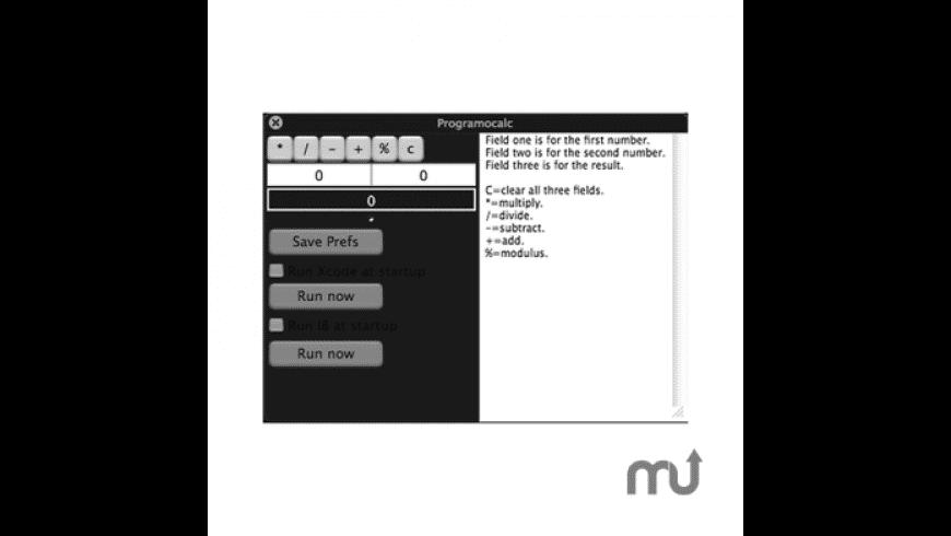 ProgramoCalc for Mac - review, screenshots