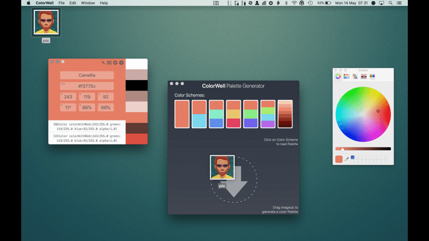 ColorWell for Mac - review, screenshots