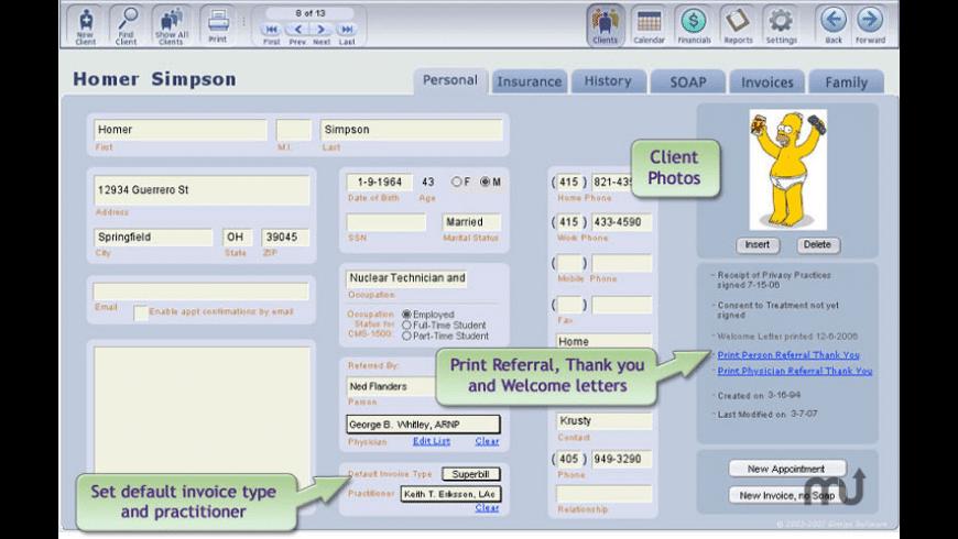 ClientTracker for Mac - review, screenshots