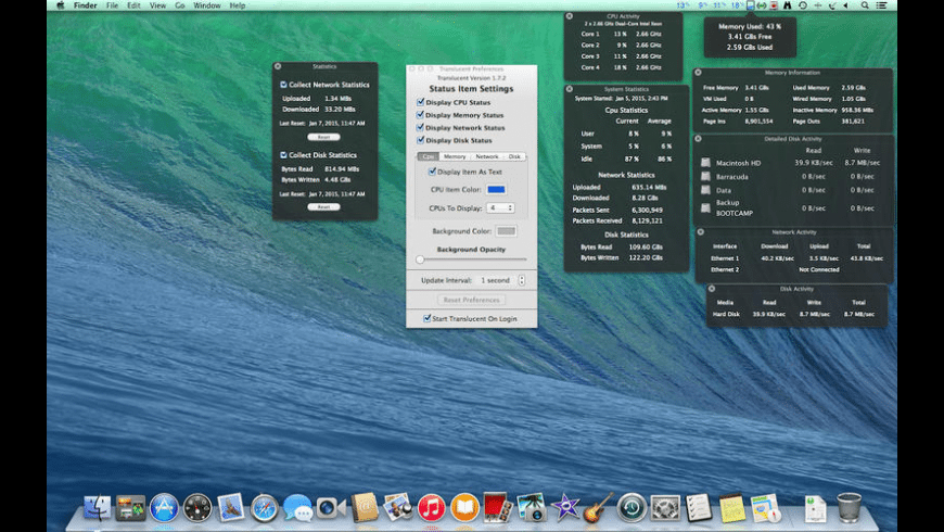 Translucent for Mac - review, screenshots
