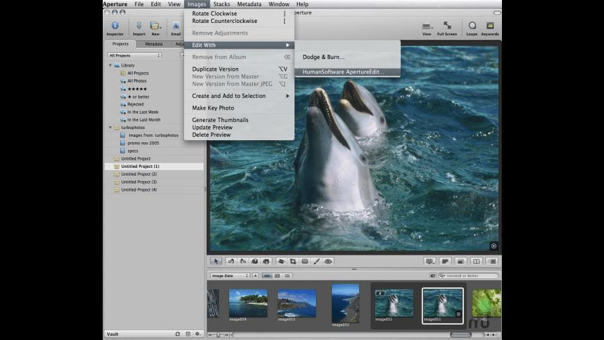 Edit for Aperture for Mac - review, screenshots
