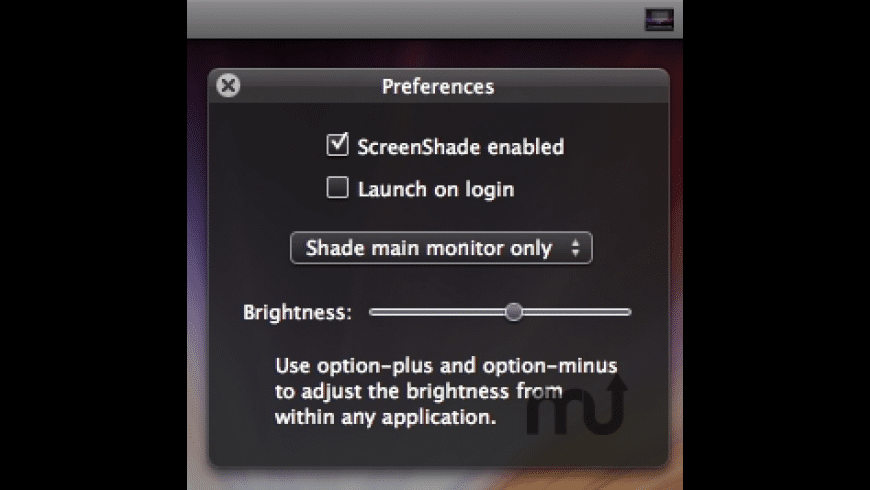ScreenShade for Mac - review, screenshots