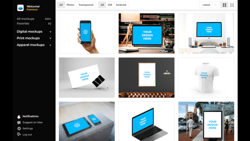 Smartmockups for Mac - review, screenshots