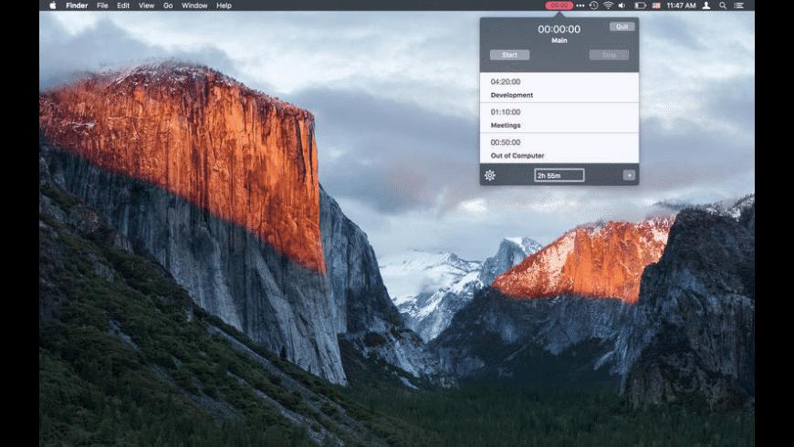 Billing Timer for Mac - review, screenshots