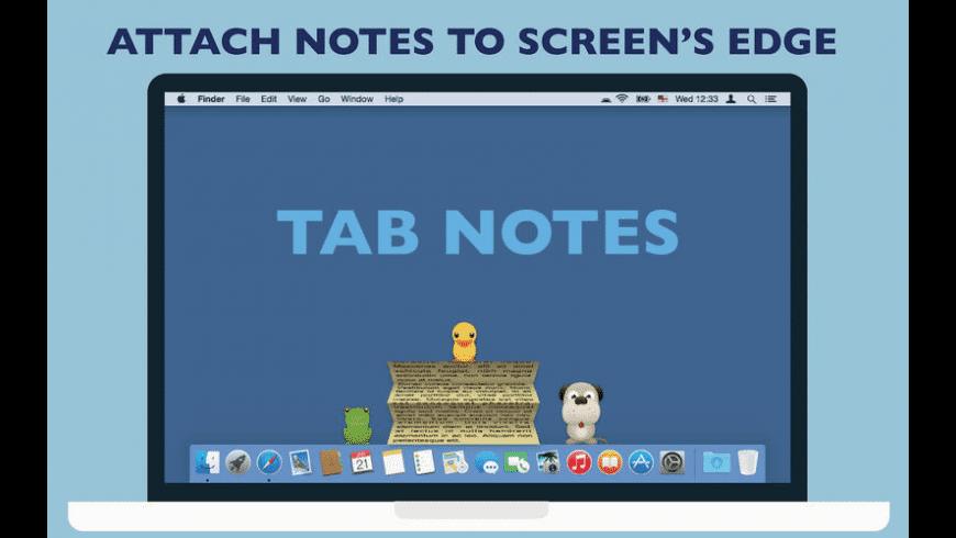 Tab Notes for Mac - review, screenshots