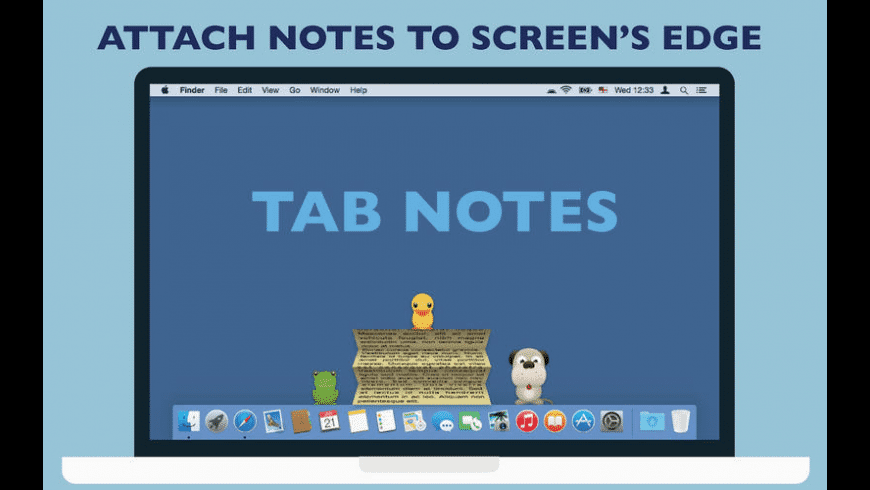 Tab Notes for Mac - review, screenshots