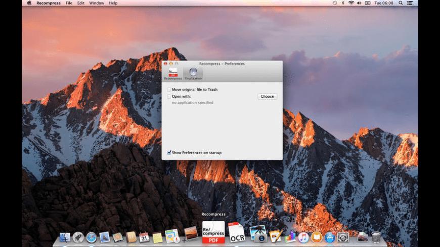 Recompress Mac 破解版 强大的PDF文件压缩工具-麦氪派