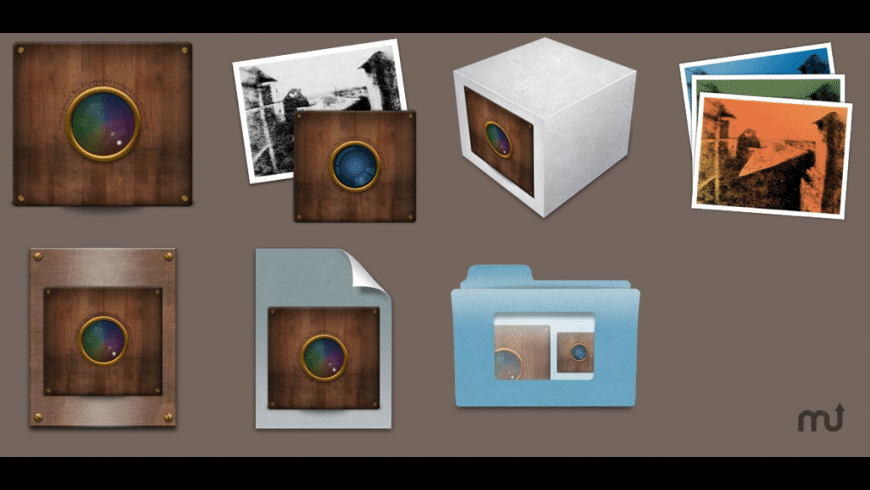 Camera Obscura Icons for iPhoto and Aperture for Mac - review, screenshots