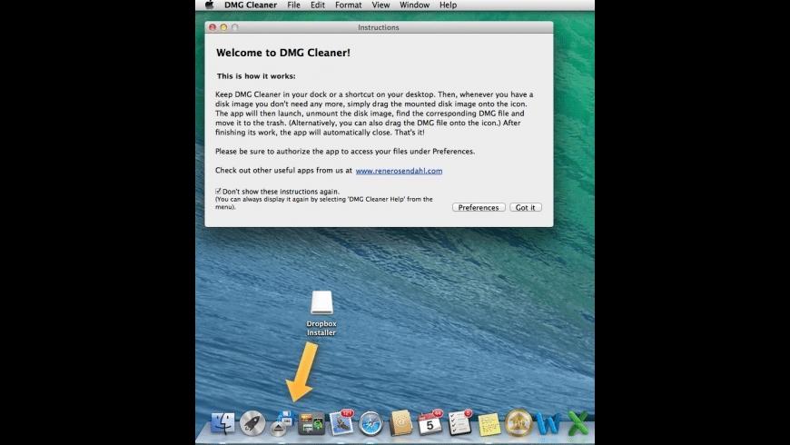 DMG Cleaner for Mac - review, screenshots
