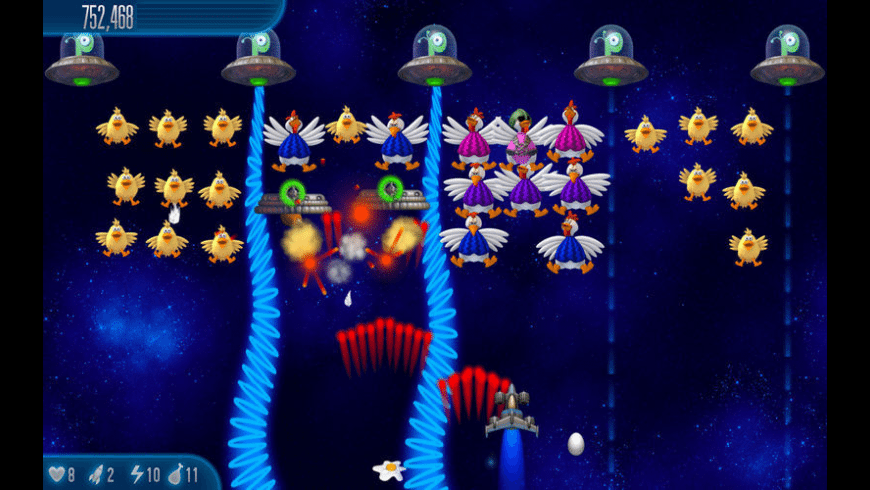 Chicken Invaders 5 for Mac - review, screenshots