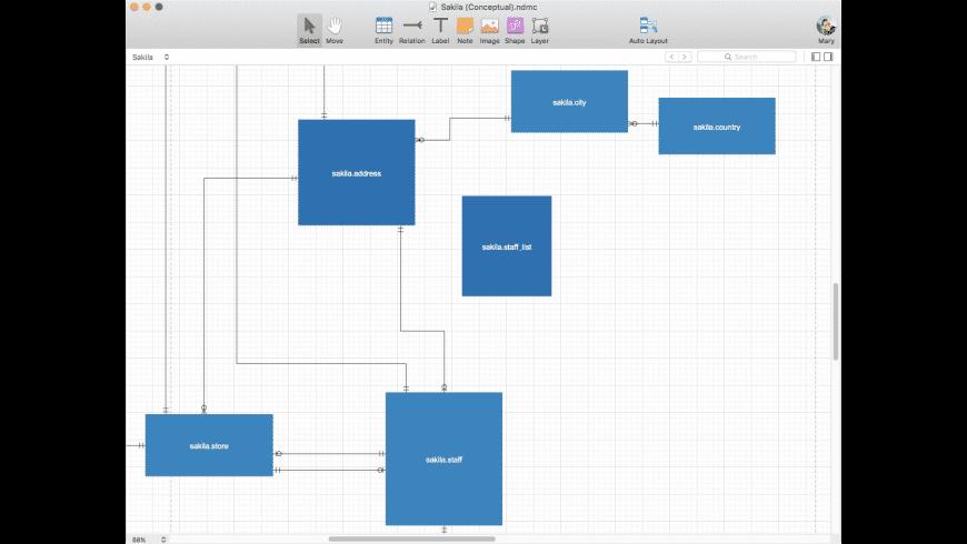 Navicat Data Modeler for Mac - review, screenshots