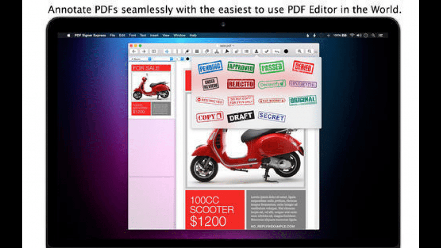 PDF Signer Express for Mac - review, screenshots