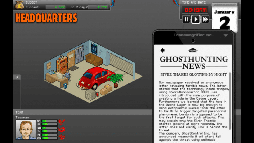 GhostControl Inc. for Mac - review, screenshots