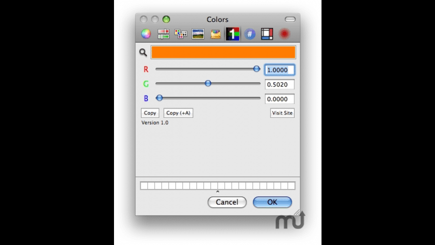FloatColorPicker for Mac - review, screenshots
