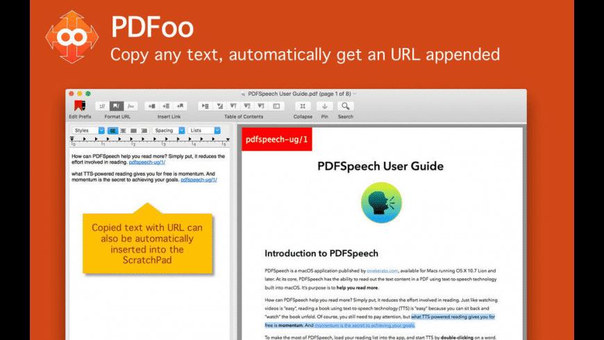 PDFoo for Mac - review, screenshots