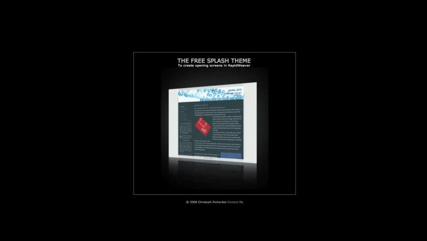 Splash Theme for Mac - review, screenshots