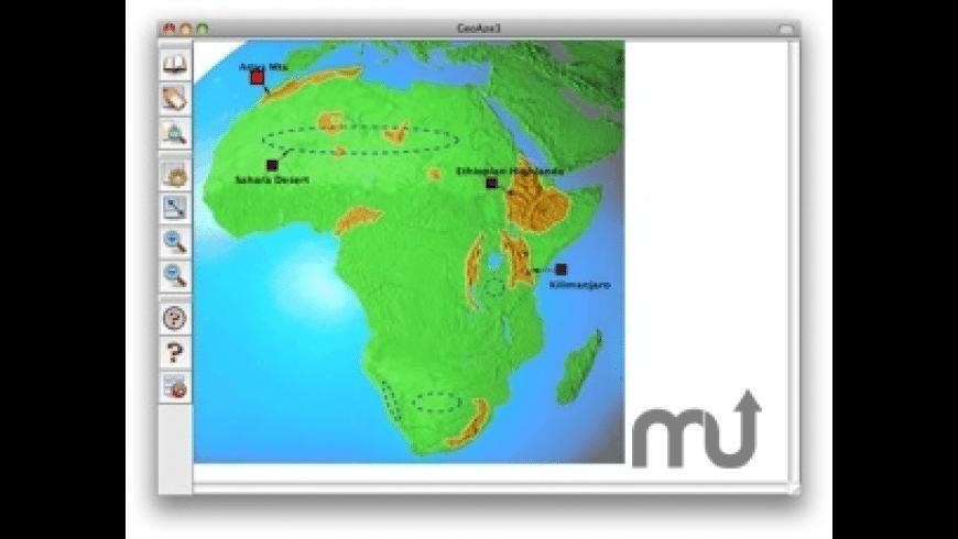 GeoAze for Mac - review, screenshots
