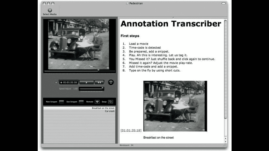 Annotation Transcriber for Mac - review, screenshots