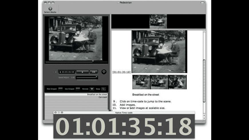 Annotation Transcriber for Mac - review, screenshots