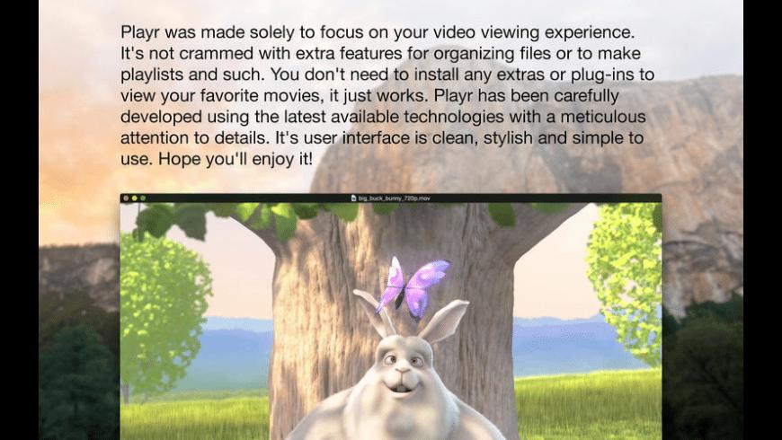 Playr for Mac - review, screenshots