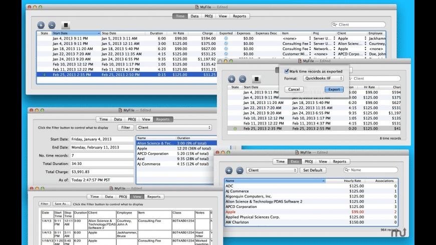 QuickTimer for Mac - review, screenshots