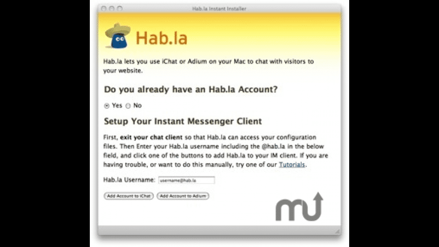 Hab.la for Mac - review, screenshots