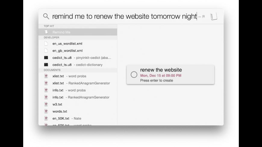 Flashlight for Spotlight for Mac - review, screenshots