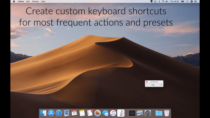 +Timer for Mac - review, screenshots
