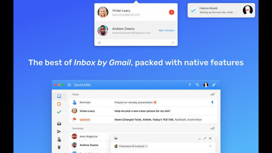 Boxy for Mac - review, screenshots