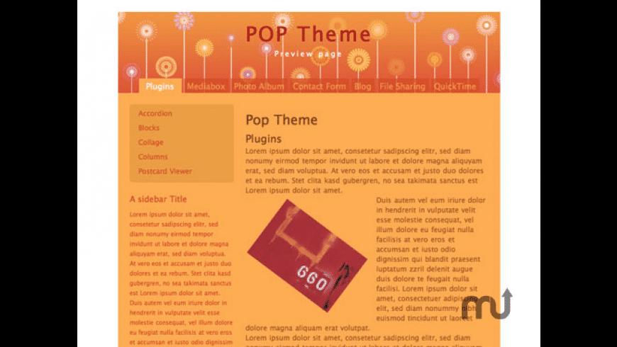 POP Theme for Mac - review, screenshots