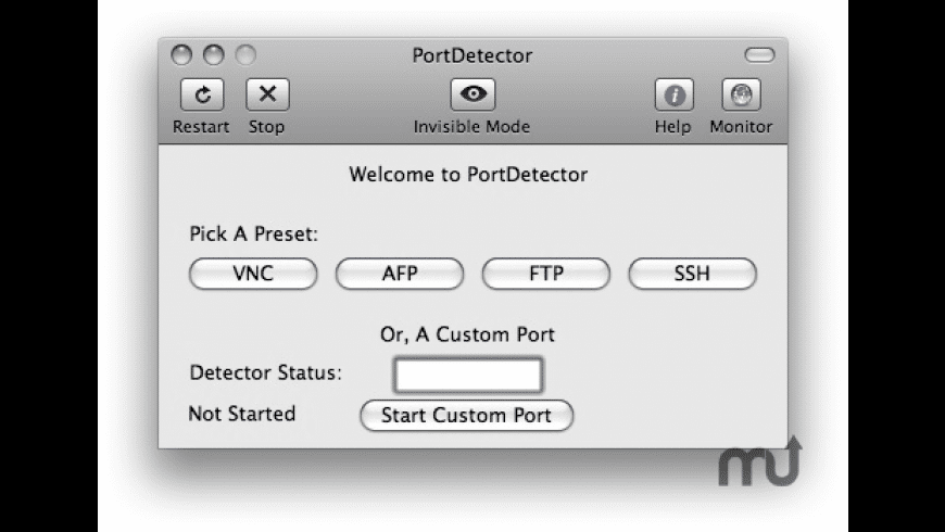 PortDetector for Mac - review, screenshots