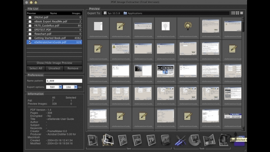 PDF Image Extractor for Mac - review, screenshots