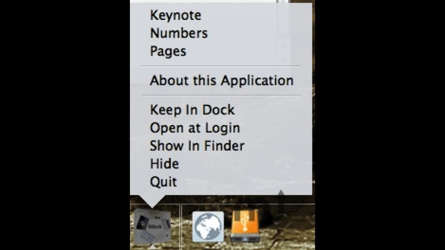 iWork Dock for Mac - review, screenshots