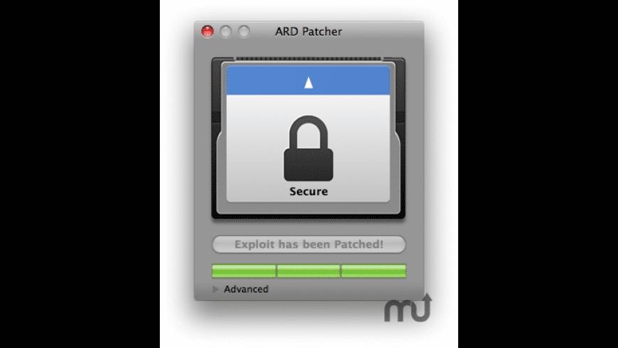 ARD Patcher for Mac - review, screenshots
