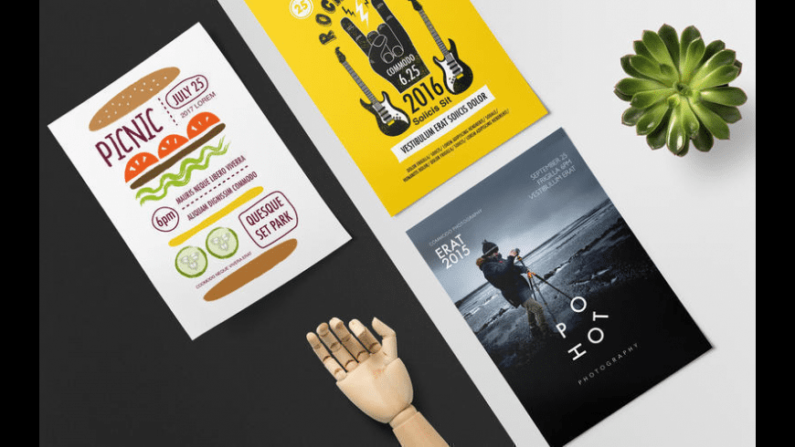 DesiGN Posters Templates for Mac - review, screenshots