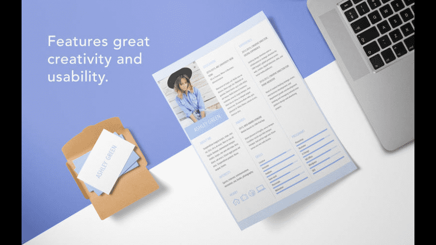 resume templates for mac  free download   review  latest