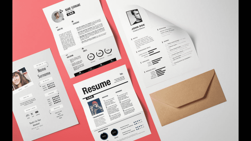 Resume Templates for Mac - review, screenshots