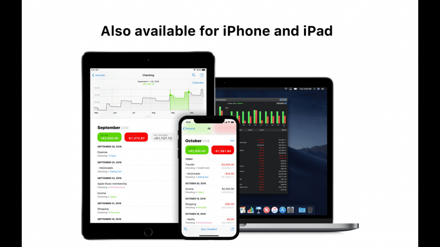 Finances for Mac - review, screenshots