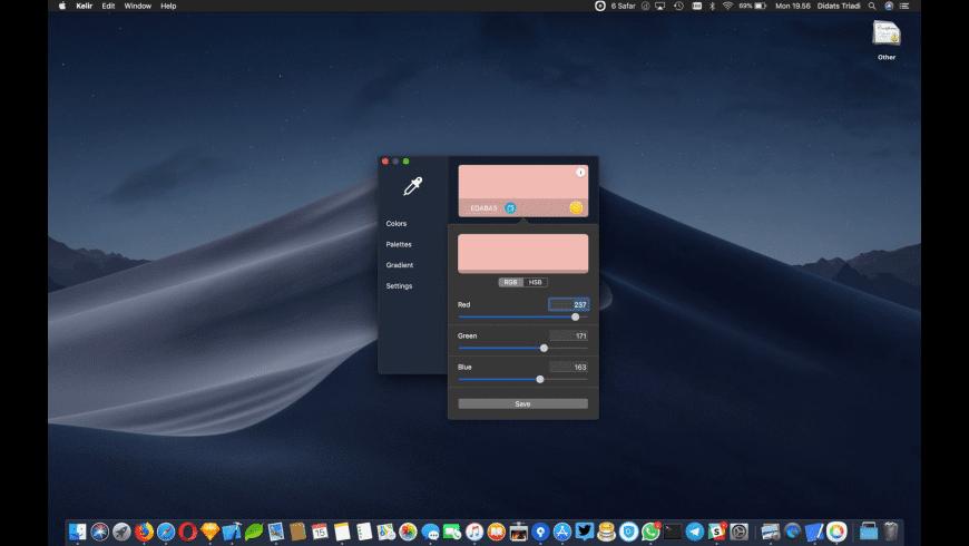 Kelir for Mac - review, screenshots