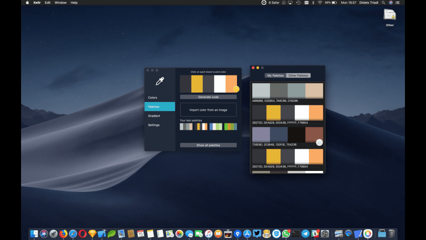 Kelir for Mac - review, screenshots