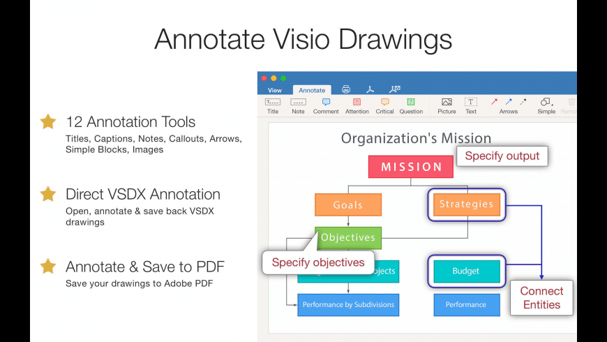 VSDX Annotator for Mac - review, screenshots