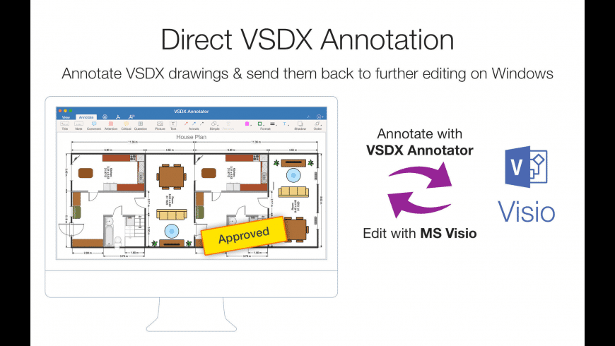 VSDX Annotator for Mac - review, screenshots