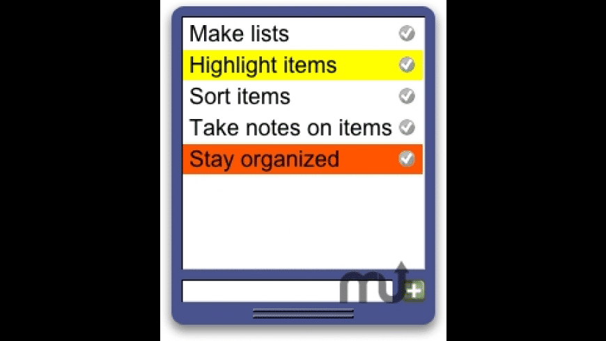 Lists for Mac - review, screenshots