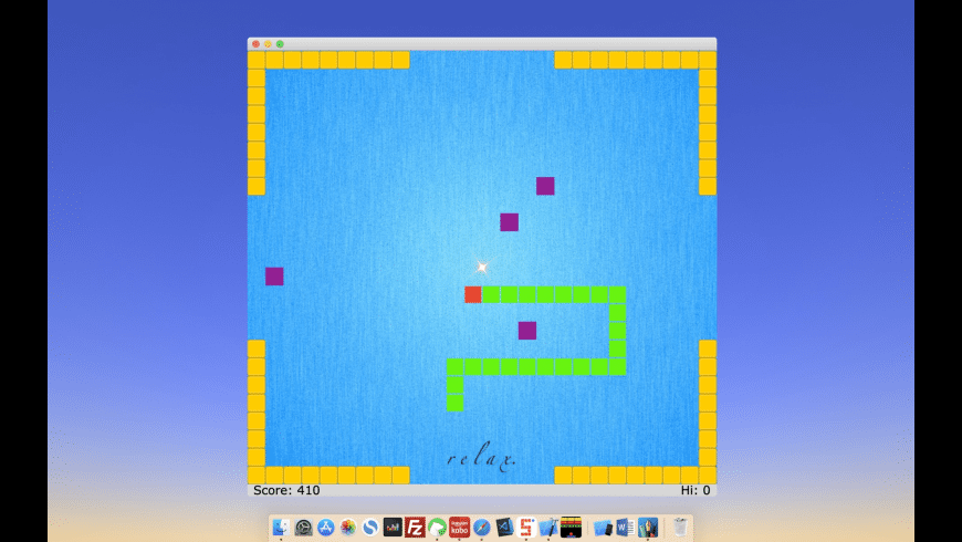 Classic Snake for Mac - review, screenshots