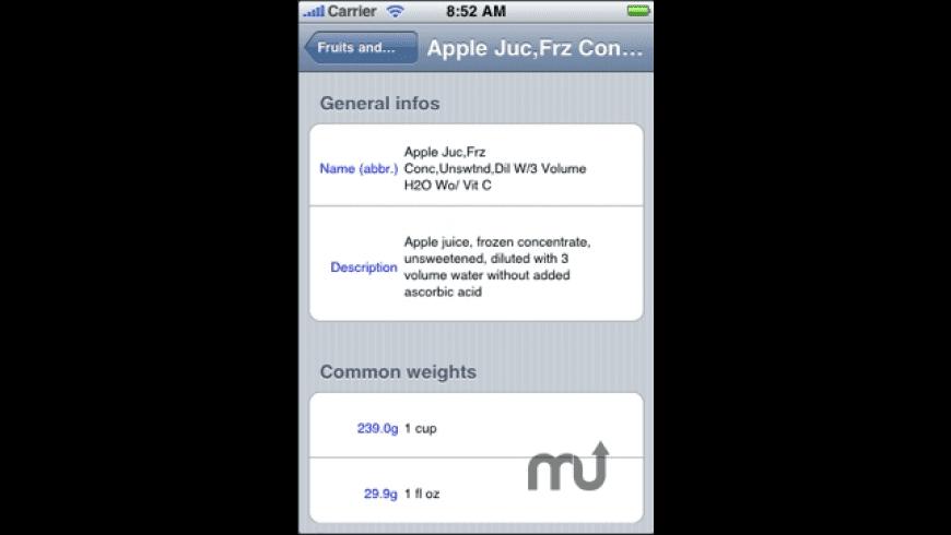 Diet for Mac - review, screenshots