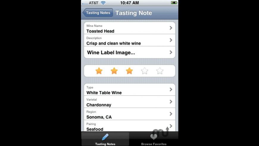 WinePad for Mac - review, screenshots