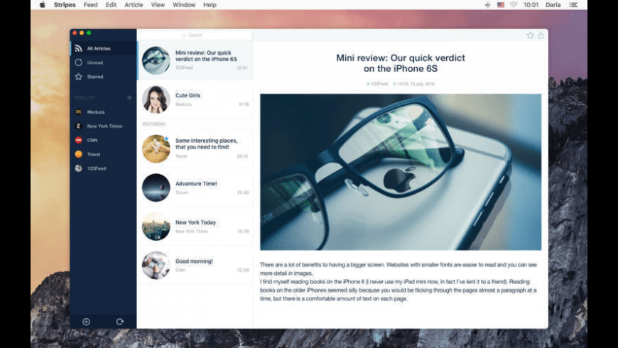 Stripes for Mac - review, screenshots