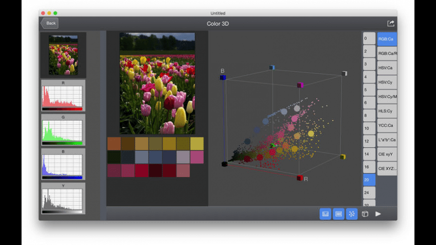 Color Spatioplotter for Mac - review, screenshots
